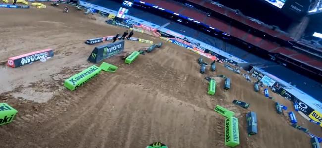 Supercross : la piste de Houston III avec Adam Cianciarulo