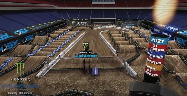 Supercross : le preview de la piste de Houston III