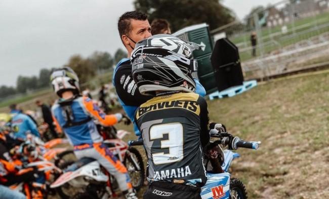 Jarne Bervoets aux côtés de Jayson Van Drunen avec le support de Yamaha Motor Europe