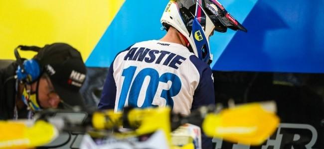 Max Anstie absent de l'ouverture de la saison SX ce week-end