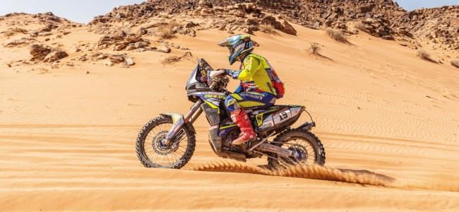 Grosse chute pour Rui Goncalves ce lundi sur le Dakar