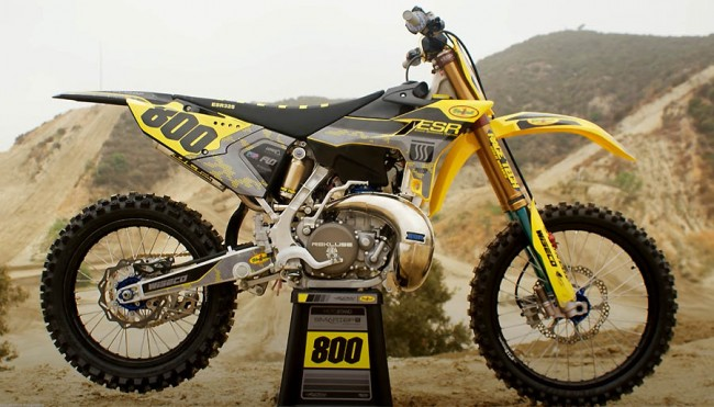 Vidéo : la Yamaha YZ325 ESR de Mike Alessi