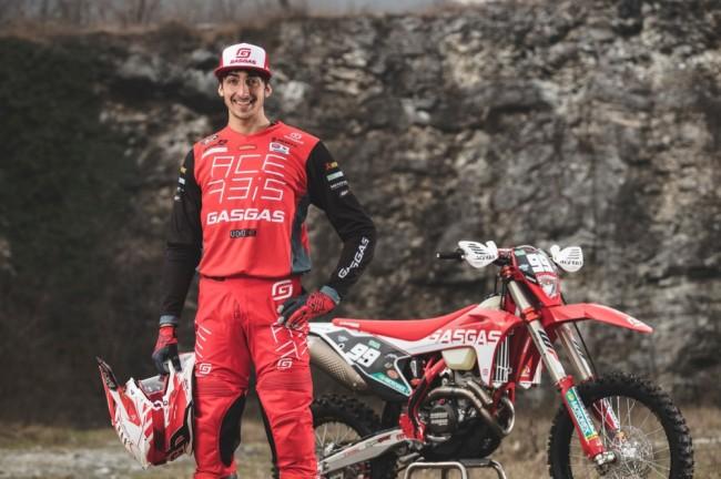 GasGas en EnduroGP avec Andrea Verona