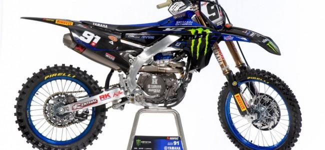 MXGP : les couleurs 2021 du team Monster Energy Yamaha Factory