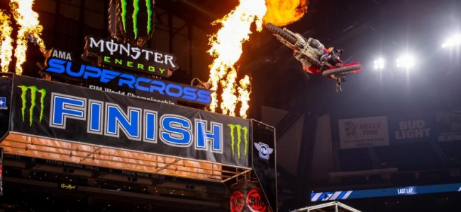 Supercross : le replay d'Indianapolis 3