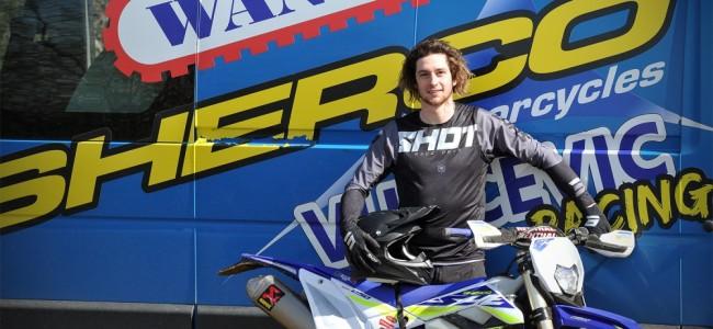 Jérémy Hérinne chez Sherco Vukcevic Racing