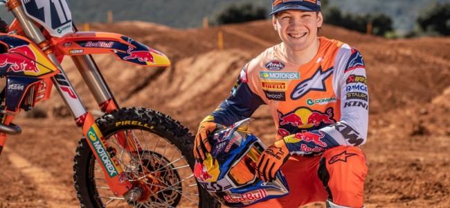 Vidéo : René Hofer prêt à entrer dans sa deuxième saison mondiale MX2