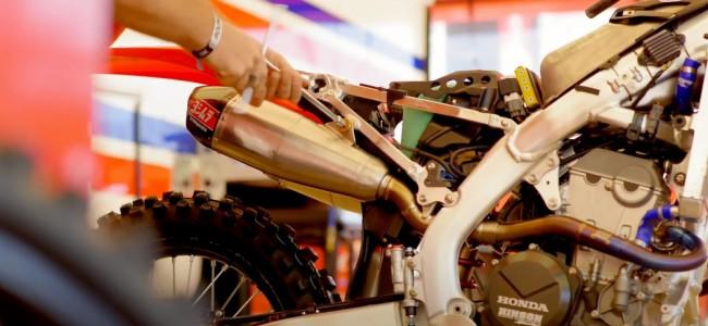 Supercross : entre les courses, que se passe-t-il sur la Honda de Ken Roczen ?
