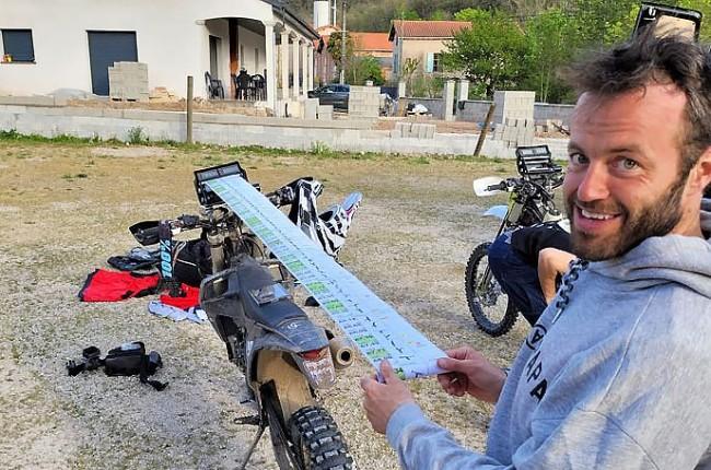 Les Dakaristes belges en formation dans le sud de la France