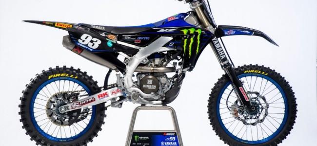 Les pilotes Monster Energy Yamaha 2021 en action