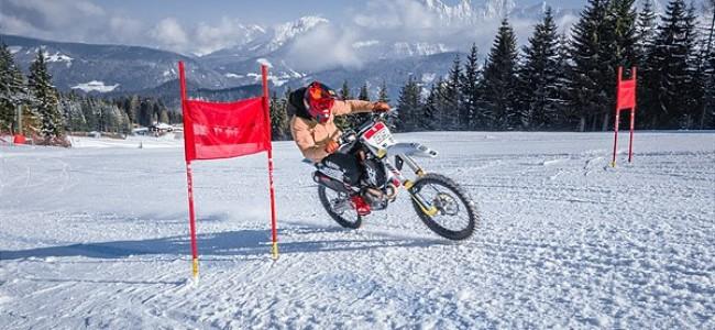 Le champion de ski Marcel Hirscher devient ambassadeur Husqvarna