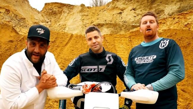 Vidéo : Pepone et Julien Lapraille parrains de Jérôme Martiny dans son projet pour le Dakar 2022