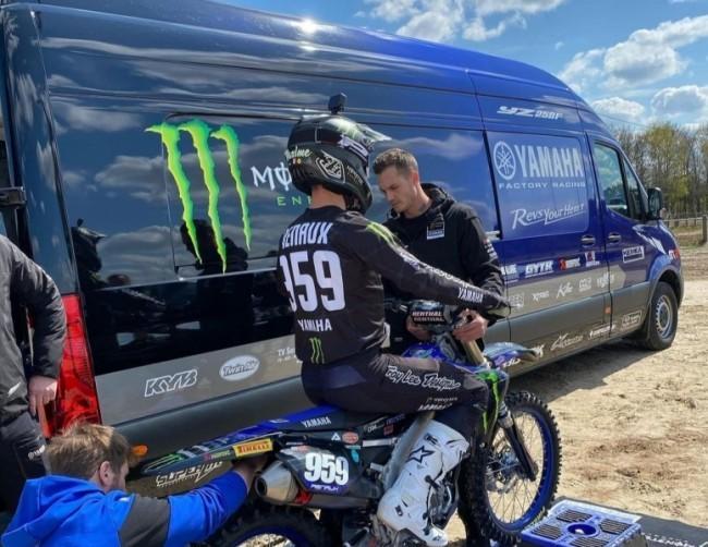 Maxime Renaux de retour à moto