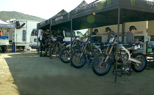 Les pilotes Yamaha Star Racing se préparent pour la saison outdoor