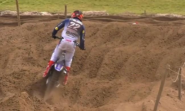 Vidéo : Kevin Strijbos en action dans le sable de Lommel