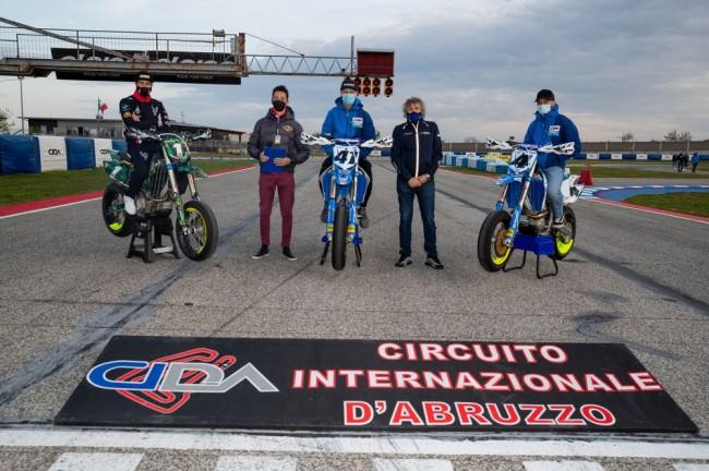 Supermoto : la première épreuve du championnat italien à Ortona en images