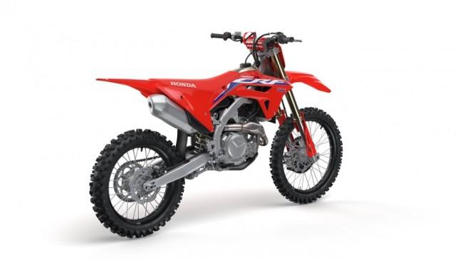 Honda lève le voile sur la 450 CRF 2022
