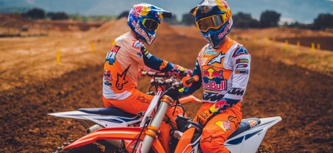 Vidéo : Jeffrey Herlings et Tom Vialle prennent le guidon des KTM 2022