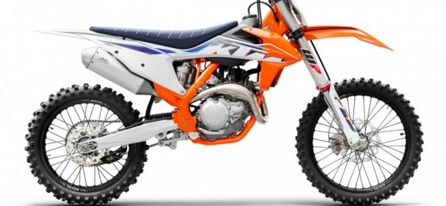 KTM présente sa gamme cross 2022