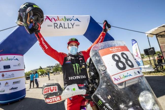 Joan Barreda remporte le rallye d'Andalousie