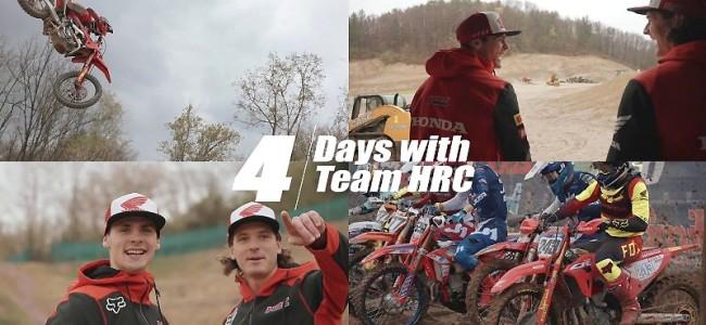 Vidéo : quatre jours aux côtés des pilotes Honda HRC