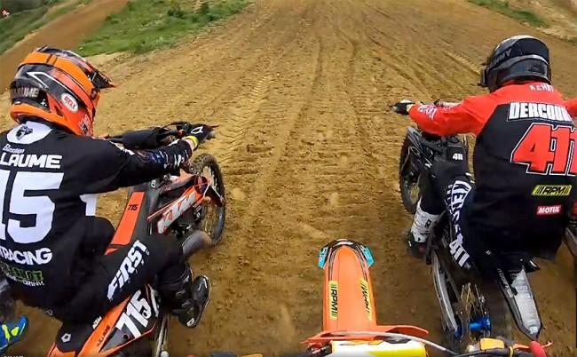 Vidéo : au coeur de l'action du National 125cc à Crisolles