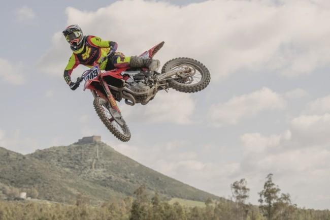 Tim Gajser dominateur à Montevarchi