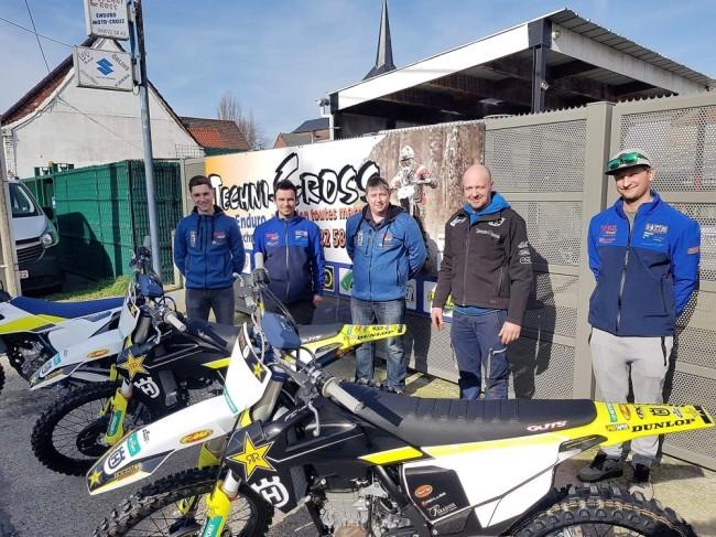 Le team MC Mikkola dans les starting blocks