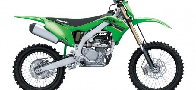 De la KX65 à la KX450, six machines dans la gamme Kawasaki off-road 2022