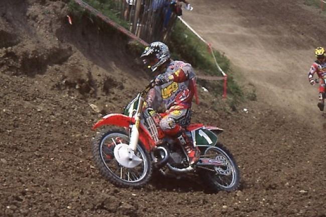 Stefan Everts en piste ce week-end à Foxhill