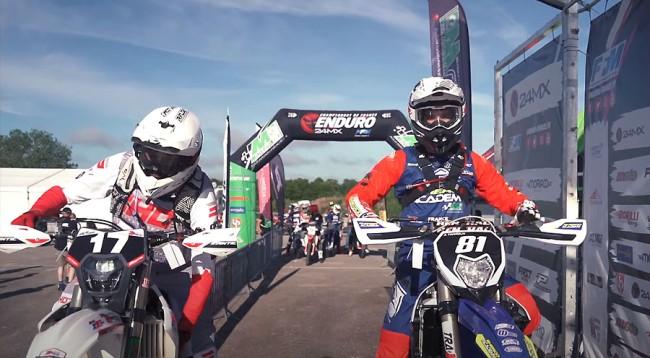 Enduro : la première journée du championnat de France 24MX à Chaumont