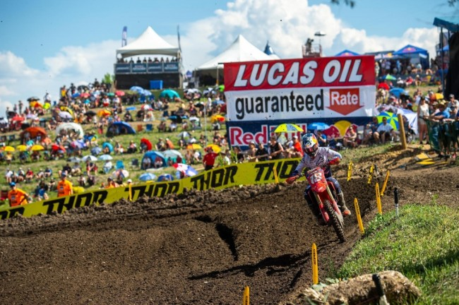 Motocross US : les moments forts de Thunder Valley