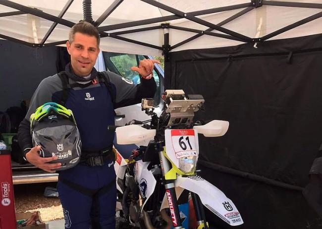 Soutenez Jérôme Martiny sur sa route vers le Dakar en courant le dimanche 27 juin