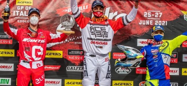 EnduroGP : Antoine Magain sur le podium de la première journée en Italie