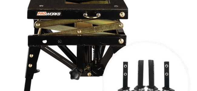Lève-moto hydraulique Proworks
