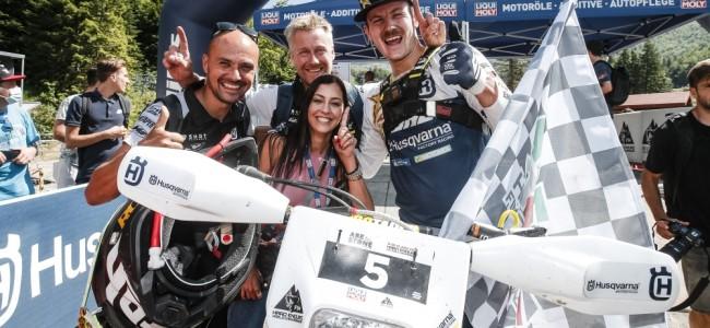 Billy Bolt domine la première épreuve du mondial Hard Enduro en Italie