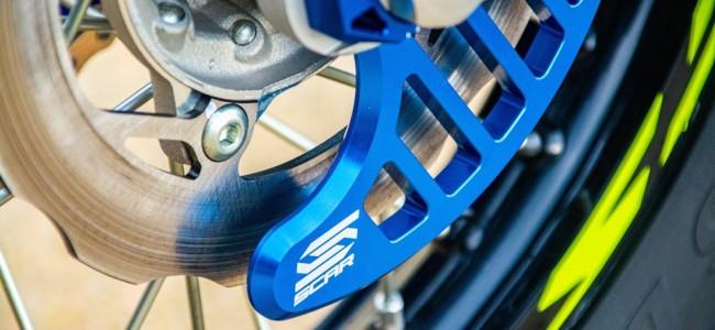 Protection de disque de frein Scar : look factory et protection haute performance