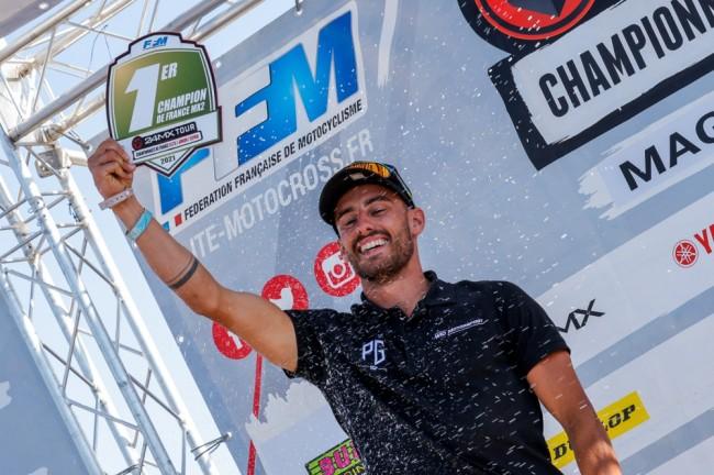 24MX Tour : Pierre Goupillon coiffe sa première couronne Elite MX2 !