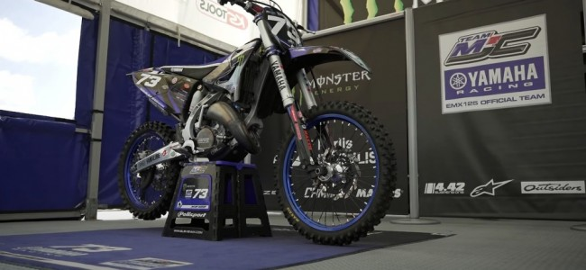 Vidéo : la Yamaha 125 du team MJC Racing à la loupe