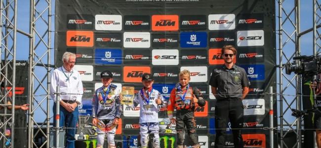 Lucas Leok champion d'Europe 65cc