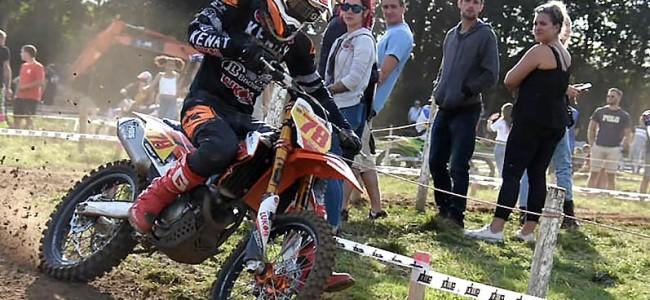 Première réussie pour le motocross AMPL de Méan
