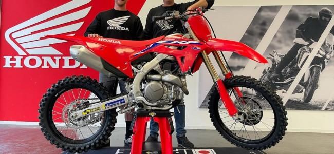 Daymond Martens chez Honda Wonderbike
