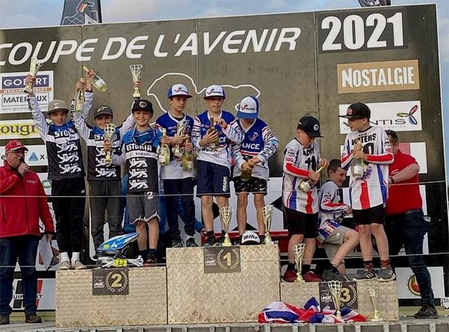 Coupe de l'Avenir : les Français à la fête