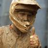 motocross dans la boue