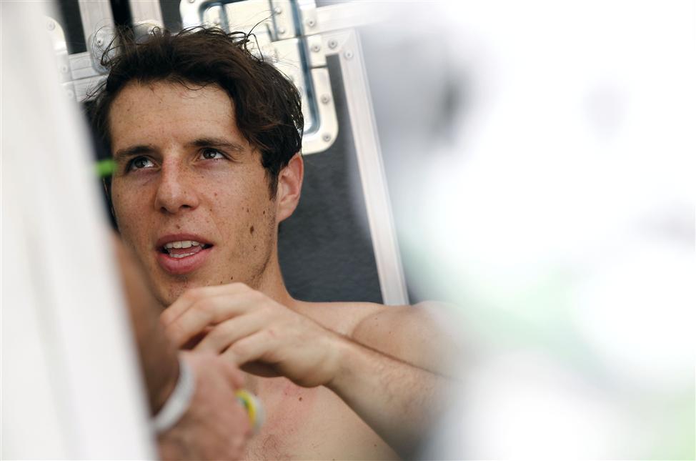 Arnaud Tonus: il est toujours leader du classement provisoire