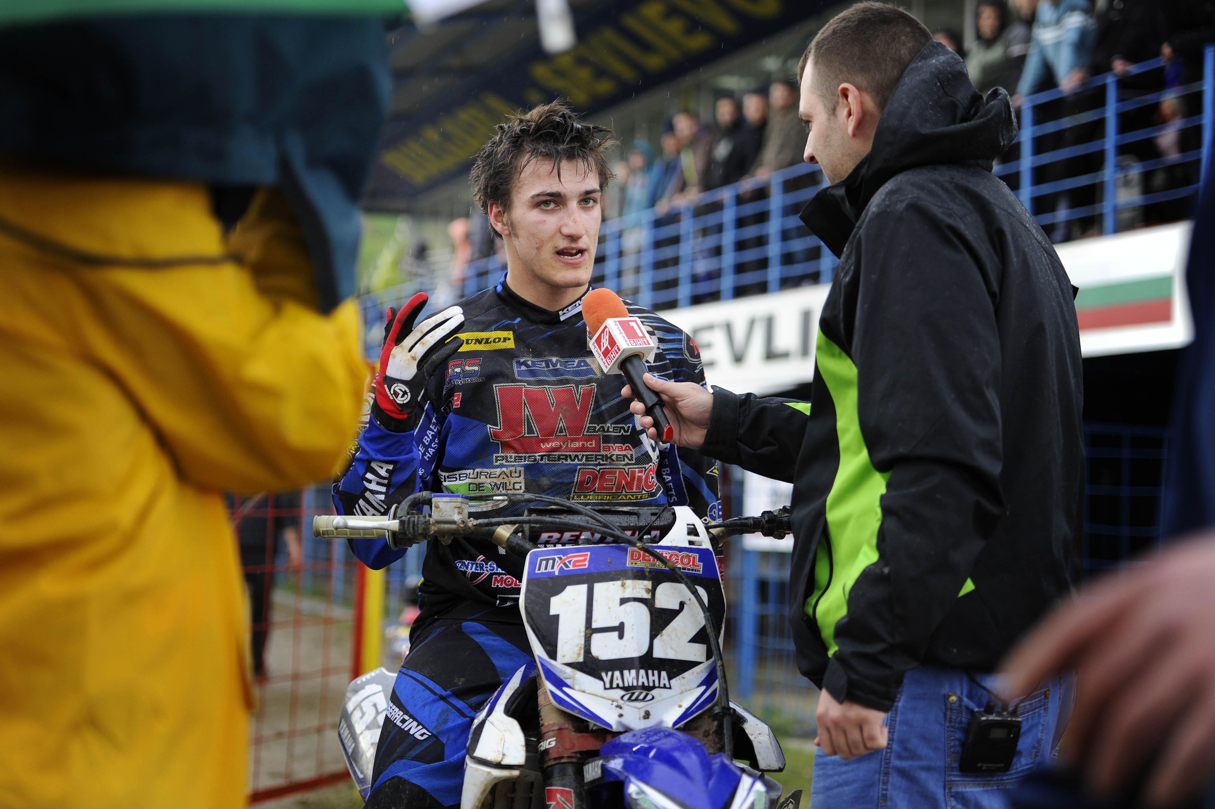 Petar Petrov: excellent résultat devant ses supporters!