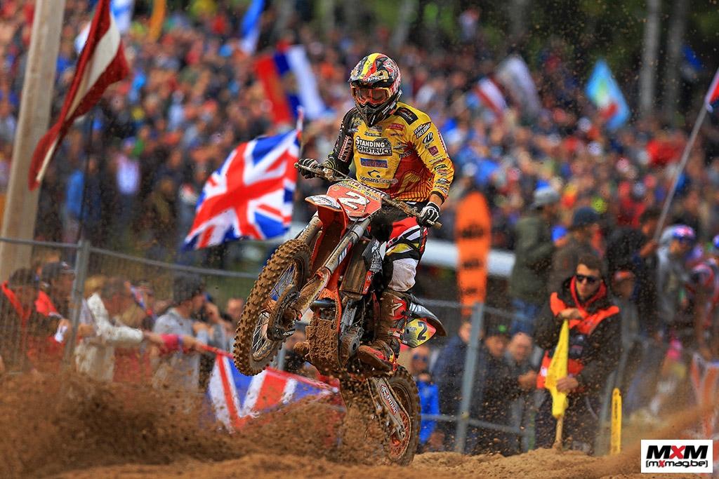 JUlien Lieber avait parfaitement rempli son rôle lors du Motocross des Nations en Lettonie