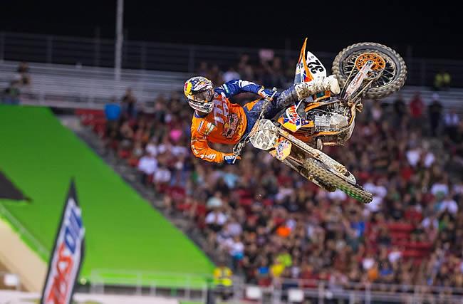 Deuxième des 2 premières finales, Justin Hill a surpris ce week-end à Vegas.