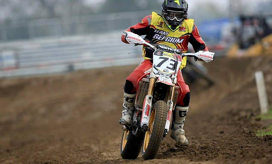 Jean-Marc Gaillard a remplacé au pied levé Ashley Barber, blessé au Superbiker de Mettet le week-end dernier.