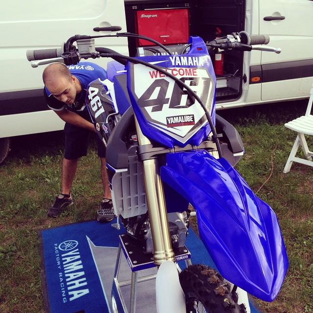 La collaboration entre Romain Fèbvre et le team Yamaha-Rinaldi semble partie sur de bonnes bases !